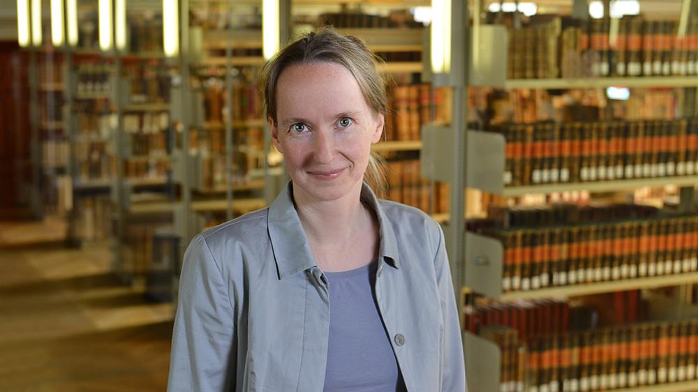 Dr. Andrea Thiele; Foto: Michael Deutsch, Halle