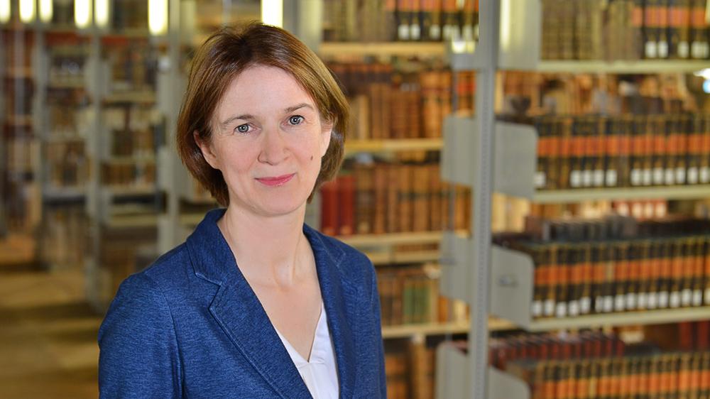 Prof. Dr. Elisabeth Décultot; Foto: Michael Deutsch, Halle