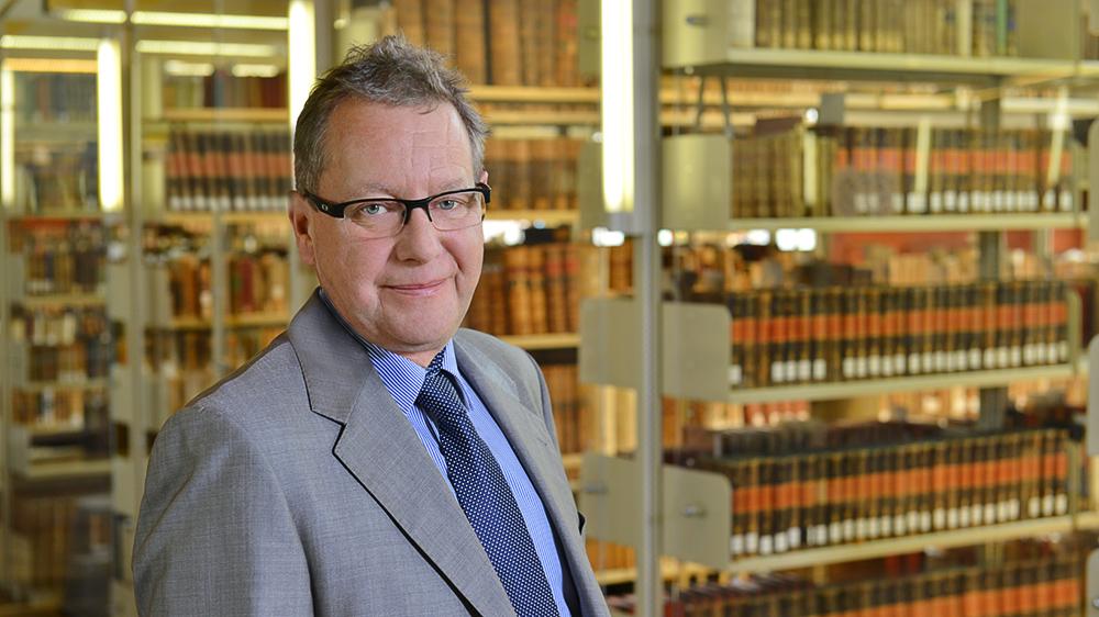 Prof. Dr. Jörg Dierken; Foto: Michael Deutsch, Halle
