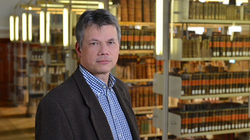 Dr. Matthias Hambrock; Foto: Michael Deutsch, Halle
