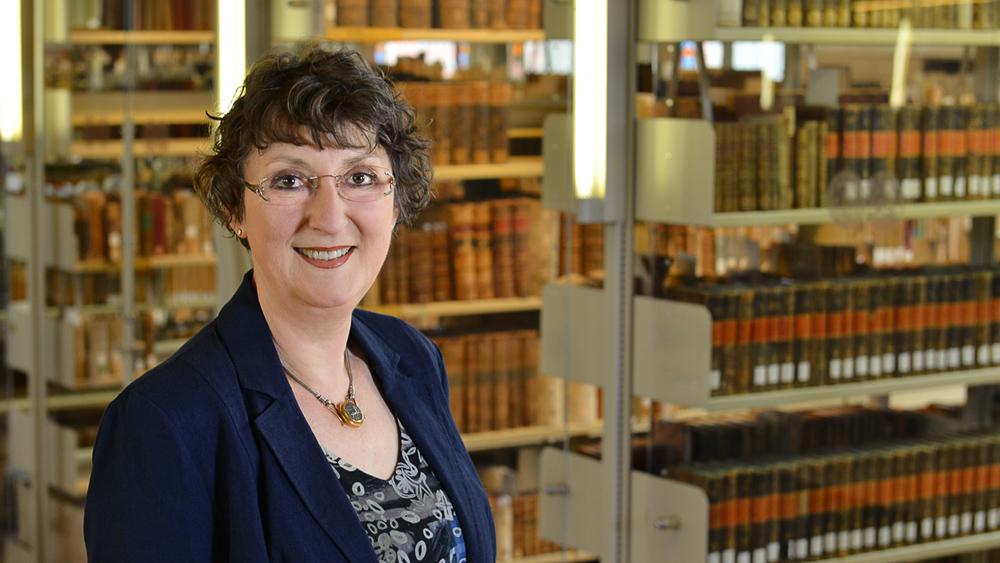 Prof. em. Dr. Sabine Volk-Birke; Foto: Michael Deutsch, Halle