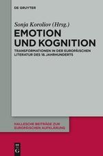 Emotion und Wissen im russischen und europäischen Sentimentalismus