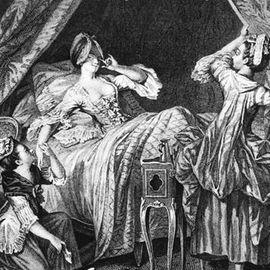 """Sophie von La Roches Kupfererklärung """"Sitten der schönen Pariser Welt"""""""