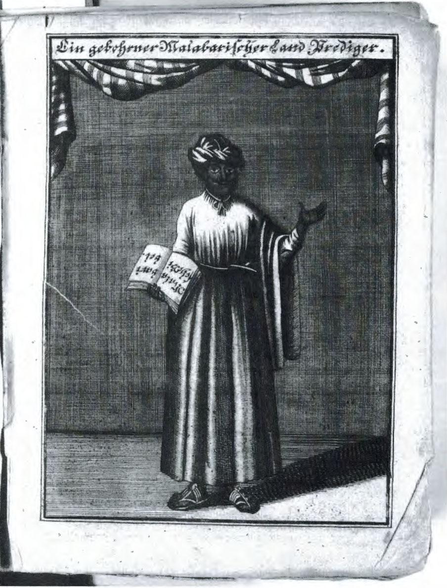 Ein gebohrener Malabarischer... Franckesche Stiftungen