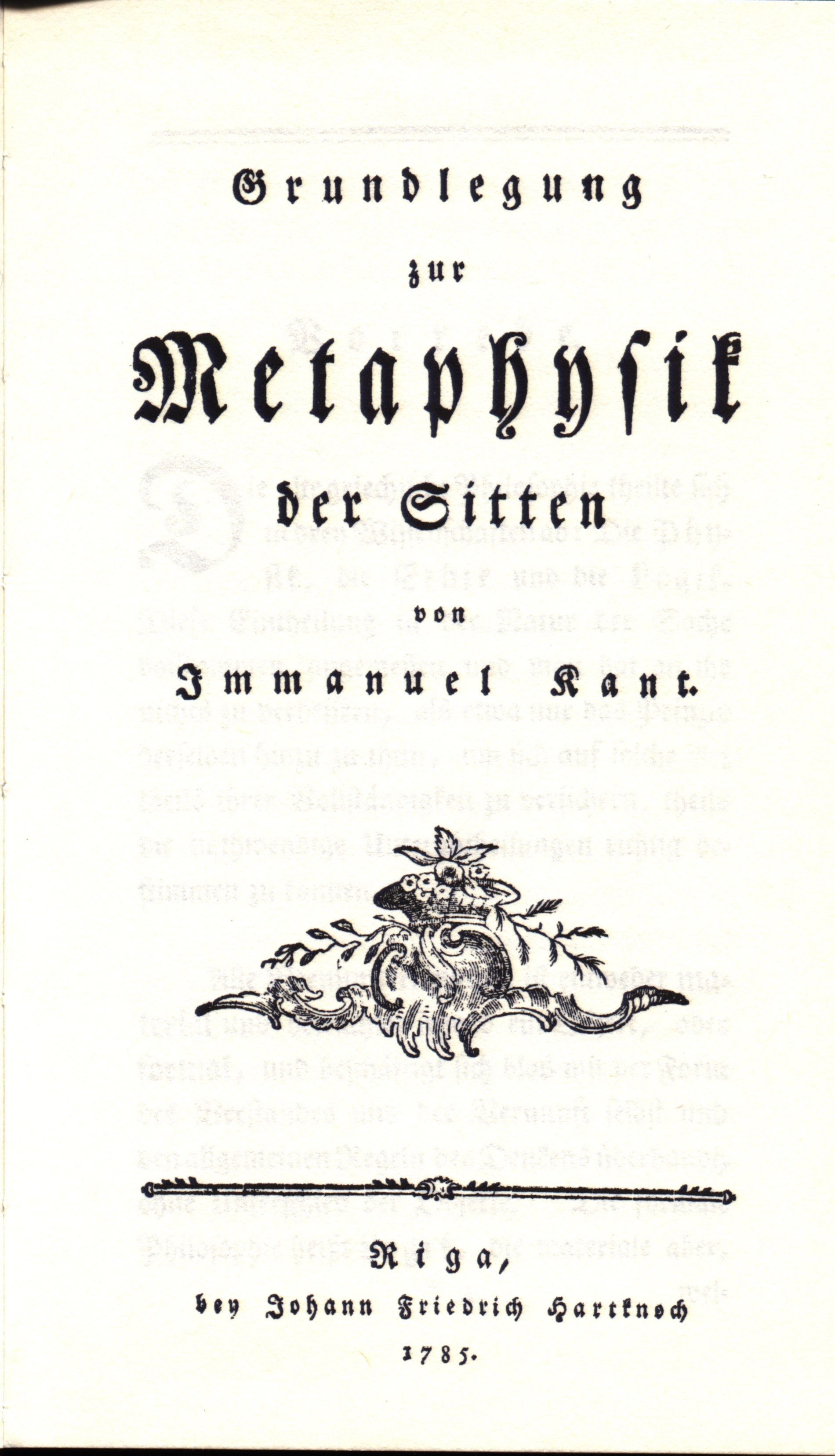 a critique of kants groundwork of the metaphysics of morals Like all of kant's writings, the foundations of the metaphysics of morals is in   clear, we will be able to proceed with criticism of it, that is, with stating some of the .