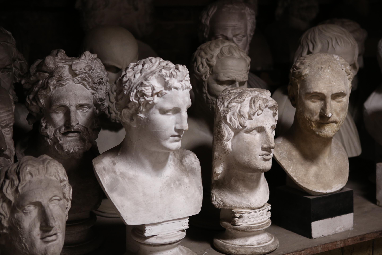 Sammlung von Abgüssen antiker Plastik im Besitz des Archäologischen Museums der Universität Halle-Wittenberg; Foto: Oliver Pässler