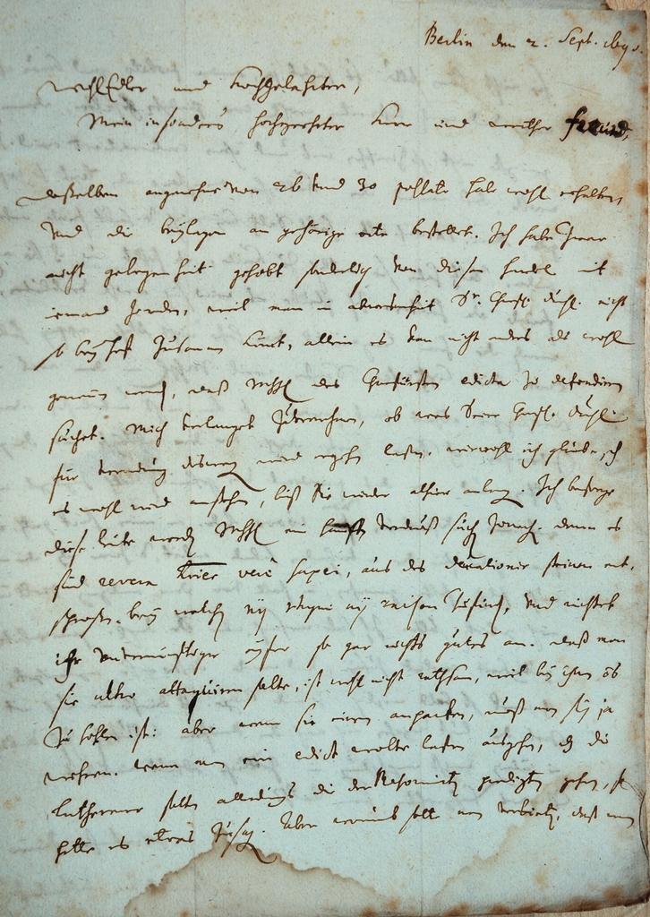 Brief von Pufendorf an Thomasius ...Angaben??