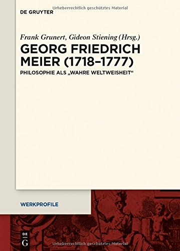 Work profiles. Philosophers and Writers of the 17th and 18th Centuries