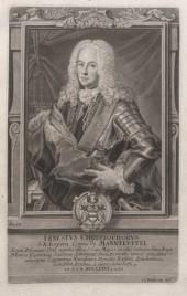 Ernst Christoph Graf von Manteuffel (Quelle: Universitätsbibliothek Leipzig, Libri.sep. 138)