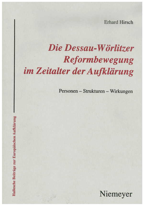 The Dessau-Wörlitz Reform Movement During the Enlightenment