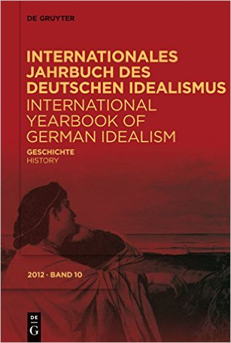 Internationales Jahrbuch des Deutschen Idealismus: Geschichte